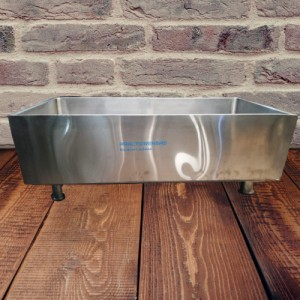 VAT STAINLESS MILK CLOTTING RECTANGULAR MODEL